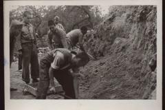 San Pedro de Cardeña 22 de septiembre de 1938. Prisioneros internacionales. Equipo de trabajo. / San Pedro de Cardeña September 22, 1938. International prisoners. Work team.