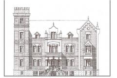 Palacio de la Isla. Fachada Principal. (AMB., AD-609/5)