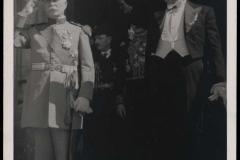 Entrega de Cartas Credenciales en Burgos y el marsical Pétain