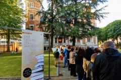 Visitas en la Noche Blanca de Burgos
