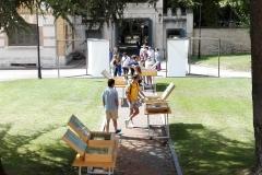 Exposición exterior 'Los orígenes del español II. De Valpuesta a Cardeña'