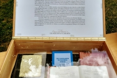 Exposición exterior 'Los orígenes del español II. De Valpuesta a Cardeña