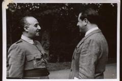 Franco entrevitsado por Sánchez Arcilla