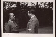 Franco entrevistado por Sánchez Arcilla