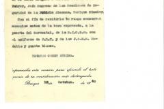 Carta del Alcalde de Burgos