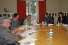 Reunión del Congreso de Literatura de CyL