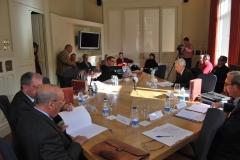 Reunión de trabajo del Cartulario Gótico y Galicano de Valpuesta