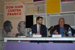 Presentación del libro 'Don juan contra franco' de Juan Fdez Miranda y Jesús García Calero