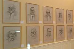 Exposición Félix de la Vega. Galería de escritores modernos y contemporáneos